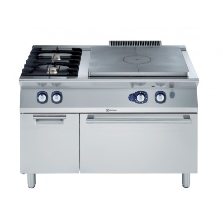 GAS SOLID TOP+2 BURN.+OVEN+OPEN B.1200MM