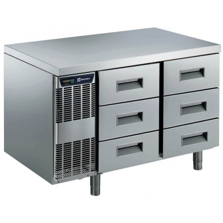 6x1/3 DRAWER REFR.TABLE -2+10C-A304-ASIA