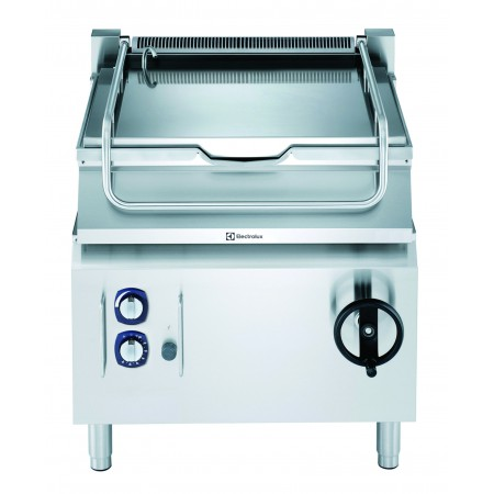 60LT GAS TILT.BRAISING PAN-DUOMAT BOTTOM