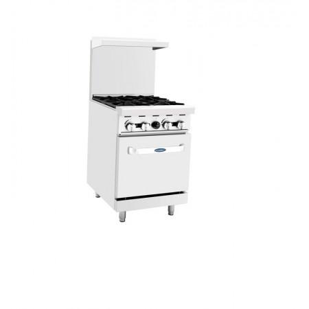 Gas 4-Burner w/Oven